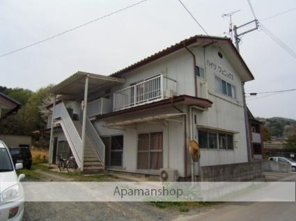 福島県二本松市、二本松駅徒歩15分の築30年 2階建の賃貸アパート