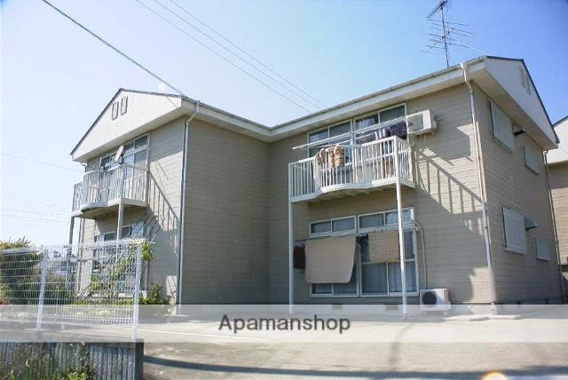 福島県二本松市、安達駅徒歩5分の築23年 2階建の賃貸アパート