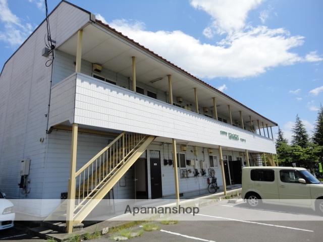福島県本宮市、五百川駅徒歩28分の築27年 2階建の賃貸アパート