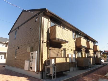 福島県郡山市の築4年 2階建の賃貸アパート