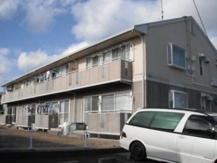 福島県郡山市の築25年 2階建の賃貸アパート