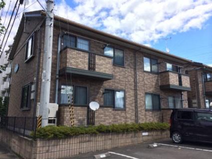福島県郡山市の築15年 2階建の賃貸アパート