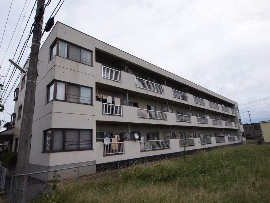 福島県郡山市、安積永盛駅徒歩16分の築34年 3階建の賃貸マンション