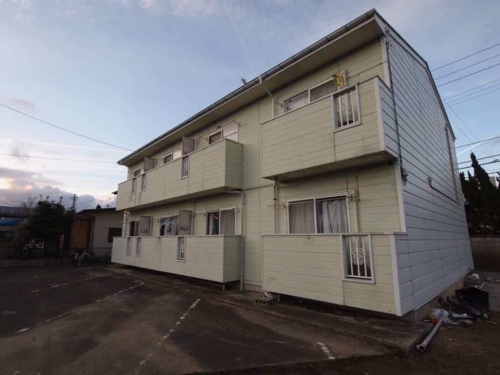 福島県郡山市の築26年 2階建の賃貸アパート