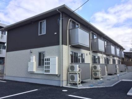 福島県郡山市の築1年 2階建の賃貸アパート
