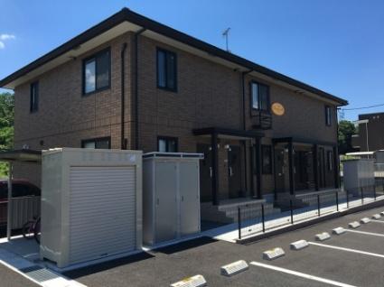 福島県須賀川市の築1年 2階建の賃貸アパート