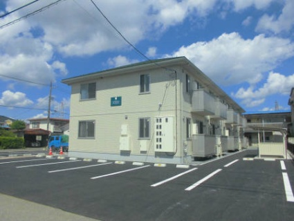 福島県白河市、新白河駅徒歩20分の築2年 2階建の賃貸アパート