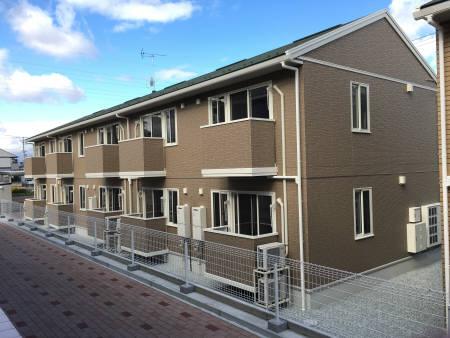 福島県郡山市、日和田駅徒歩16分の築2年 2階建の賃貸アパート
