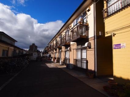 福島県郡山市、郡山駅福島交通バス5分日本大学下車後徒歩14分の築36年 2階建の賃貸アパート