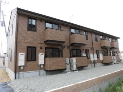 福島県郡山市の新築 2階建の賃貸アパート