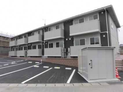 福島県郡山市、郡山駅福島交通バス20分牛ヶ池下車後徒歩9分の新築 2階建の賃貸アパート