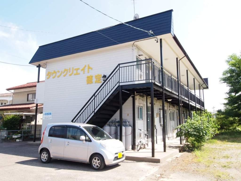 福島県郡山市、安積永盛駅徒歩12分の築31年 2階建の賃貸アパート