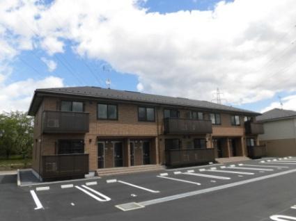 福島県西白河郡西郷村、新白河駅徒歩13分の新築 2階建の賃貸アパート