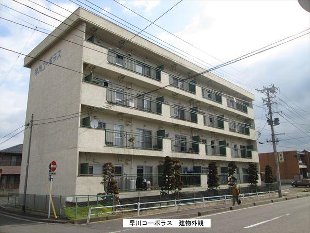 福島県郡山市の築40年 4階建の賃貸アパート
