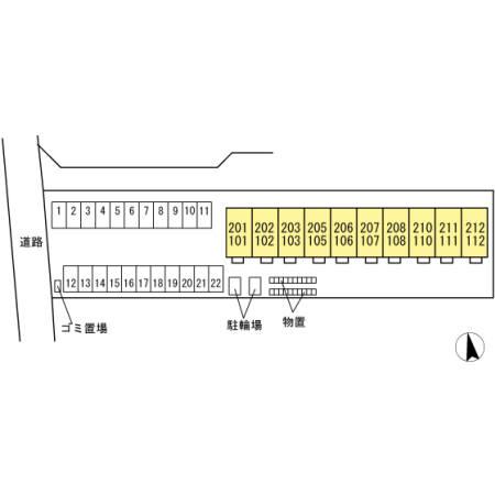 福島県郡山市、郡山駅徒歩18分の新築 2階建の賃貸アパート