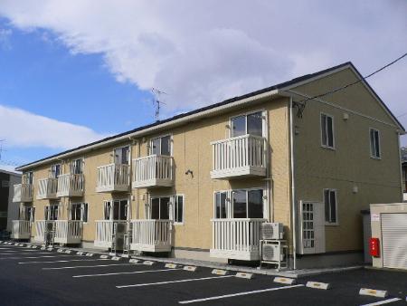 福島県郡山市の築8年 2階建の賃貸アパート