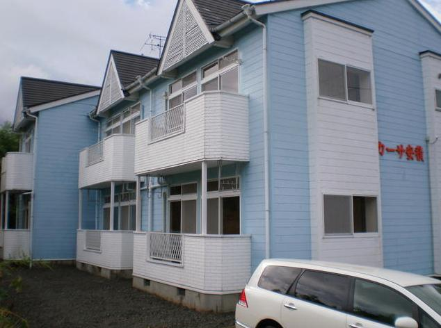 福島県郡山市の築27年 2階建の賃貸アパート