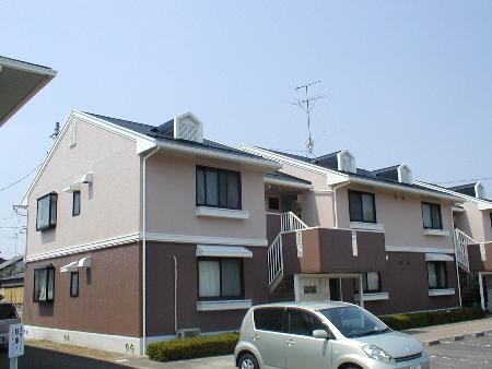 福島県郡山市の築24年 2階建の賃貸アパート