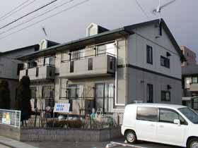 福島県郡山市の築20年 2階建の賃貸アパート