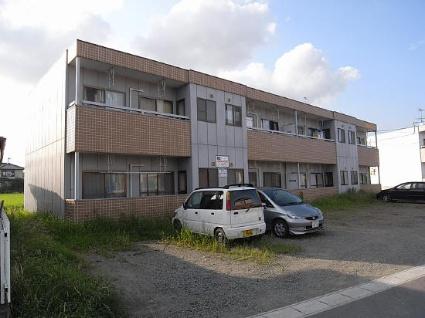 福島県郡山市の築19年 2階建の賃貸アパート