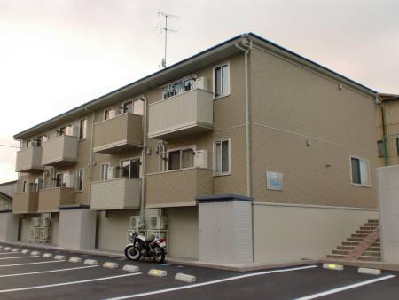 福島県郡山市の築7年 2階建の賃貸アパート