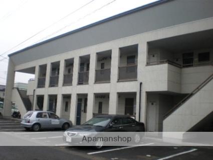 福島県郡山市、郡山駅福島交通バス17分台新下車後徒歩7分の築18年 2階建の賃貸アパート