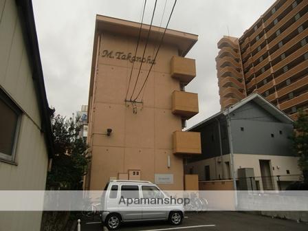 福島県郡山市、郡山駅徒歩8分の築40年 4階建の賃貸マンション