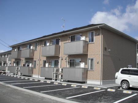 福島県郡山市の築6年 2階建の賃貸アパート