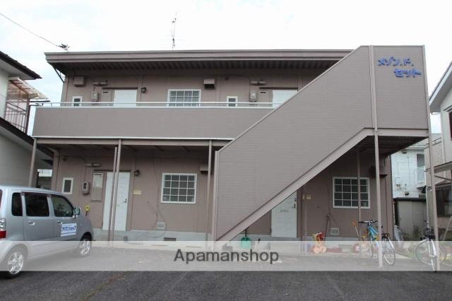 福島県郡山市の築21年 2階建の賃貸アパート