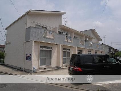 福島県郡山市の築23年 2階建の賃貸テラスハウス