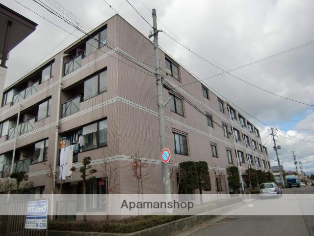 福島県郡山市、郡山駅徒歩50分の築27年 4階建の賃貸マンション