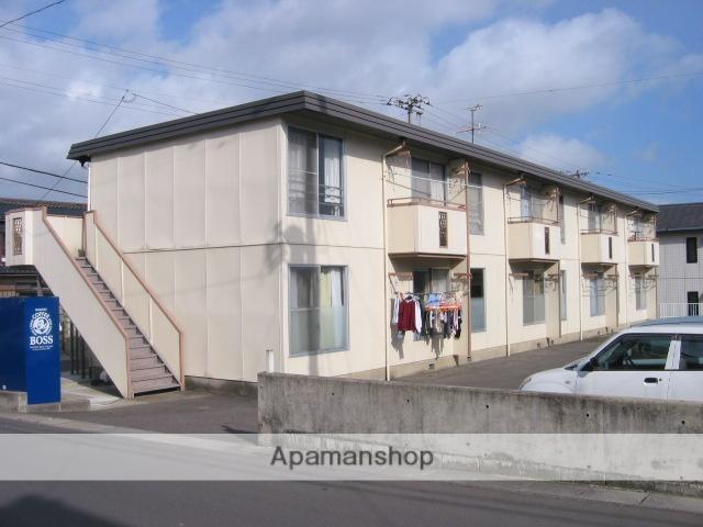 福島県郡山市、郡山駅福島交通バス25分高森下車後徒歩5分の築27年 2階建の賃貸アパート