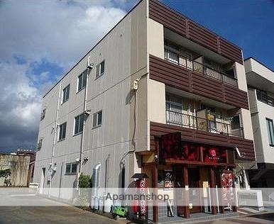 福島県郡山市、郡山駅徒歩13分の築34年 3階建の賃貸アパート