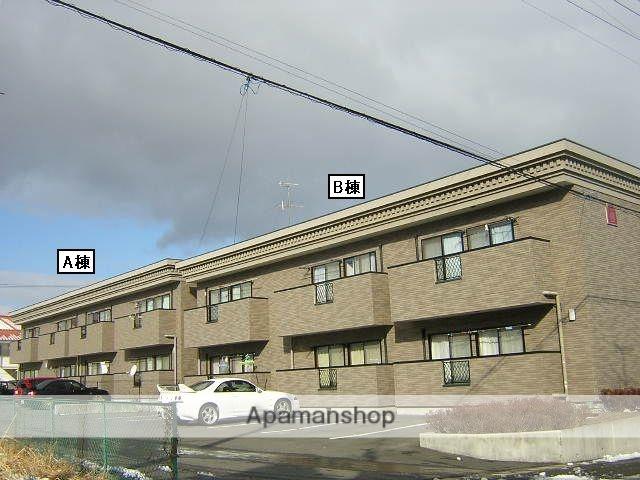 福島県郡山市、郡山駅福島交通バス20分大林下車後徒歩7分の築16年 2階建の賃貸アパート