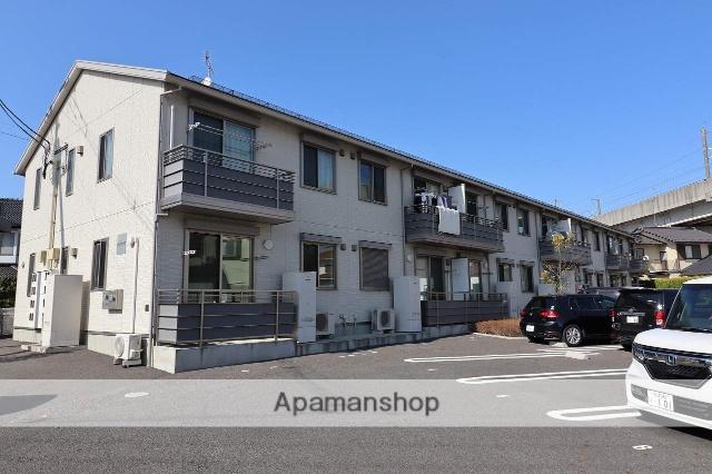 福島県郡山市、郡山駅徒歩35分の新築 2階建の賃貸アパート