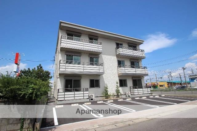 福島県郡山市の新築 3階建の賃貸アパート