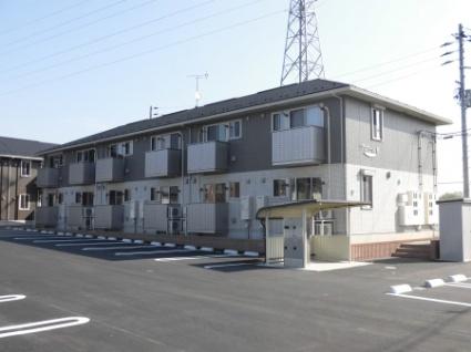 福島県郡山市、安積永盛駅バス5分笹原下車後徒歩6分の新築 2階建の賃貸アパート