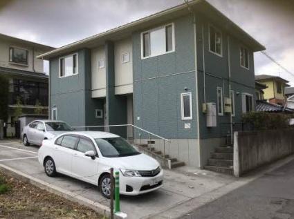 福島県郡山市の築11年 2階建の賃貸アパート
