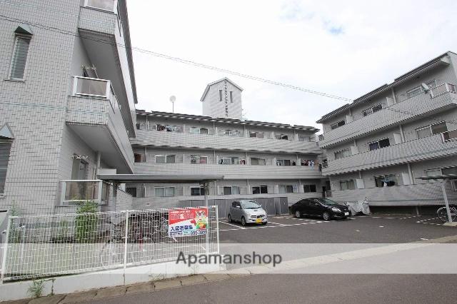 福島県郡山市、安積永盛駅徒歩13分の築26年 3階建の賃貸マンション