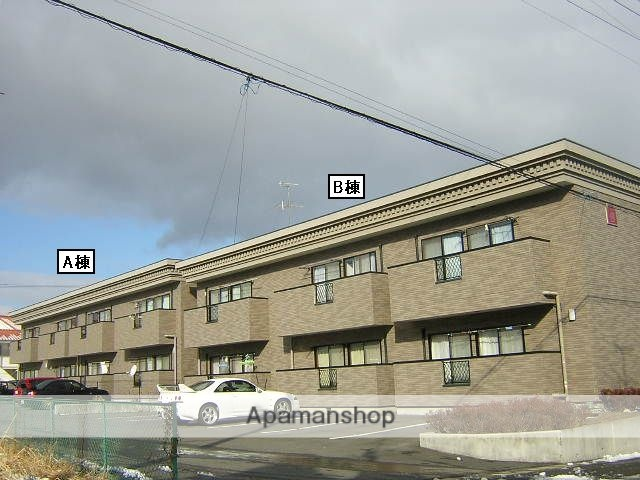 福島県郡山市、郡山駅福島交通バス20分大林下車後徒歩7分の築15年 2階建の賃貸アパート