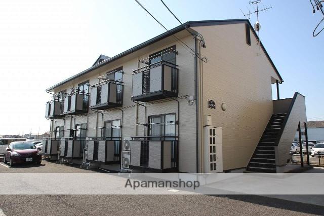 福島県郡山市の築17年 2階建の賃貸アパート