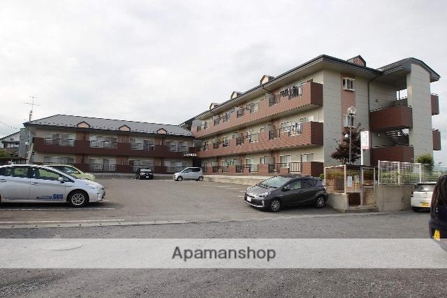 福島県本宮市、本宮駅徒歩12分の築23年 3階建の賃貸アパート