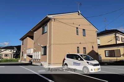 福島県本宮市、本宮駅徒歩30分の築2年 2階建の賃貸アパート