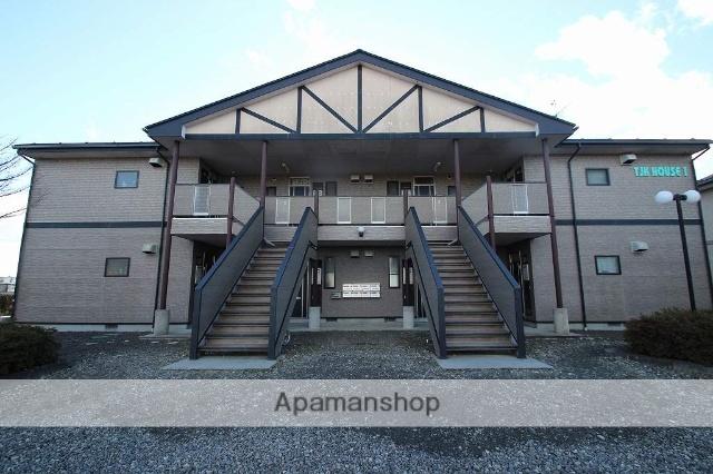 福島県本宮市、本宮駅徒歩40分の築18年 2階建の賃貸アパート
