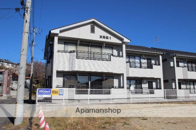 福島県本宮市、本宮駅徒歩20分の築20年 2階建の賃貸アパート