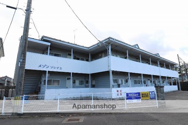 福島県本宮市、本宮駅徒歩5分の築26年 2階建の賃貸アパート
