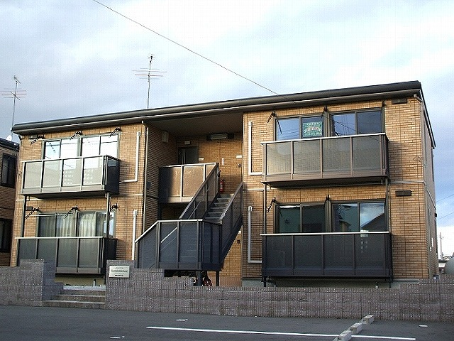 福島県本宮市、五百川駅徒歩20分の築13年 2階建の賃貸アパート