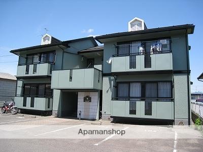 福島県本宮市、本宮駅徒歩15分の築21年 2階建の賃貸アパート