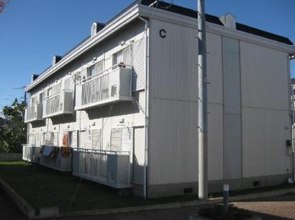 福島県いわき市、草野駅徒歩7分の築25年 2階建の賃貸アパート