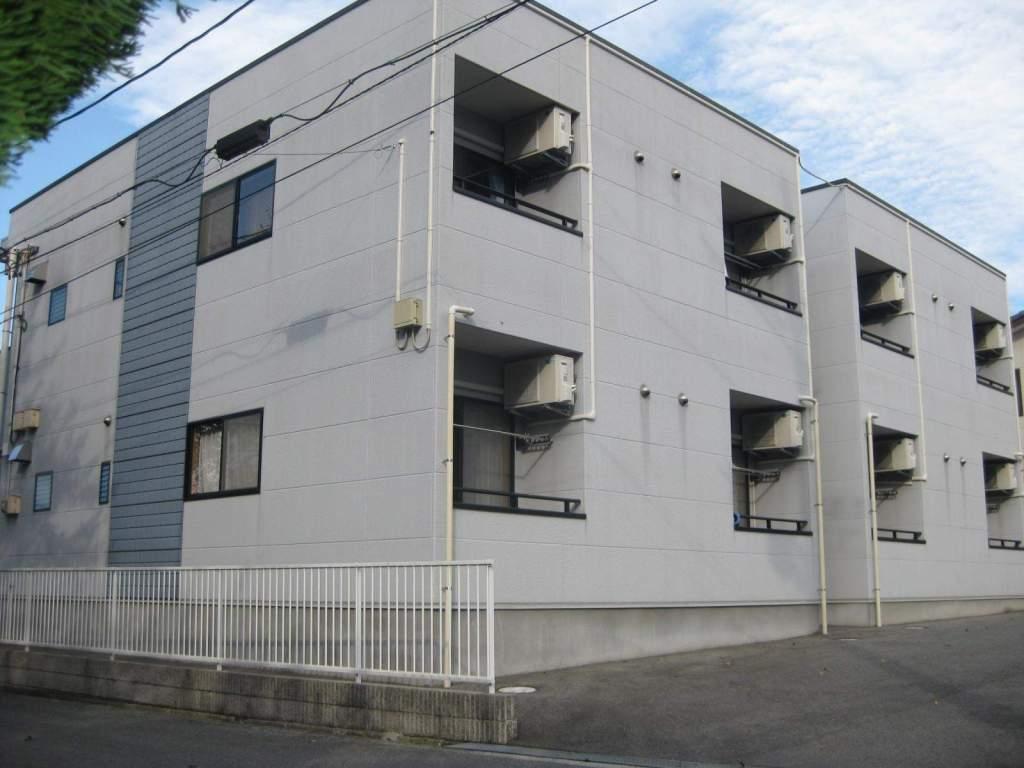 福島県いわき市の築11年 2階建の賃貸アパート